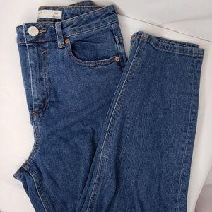 Asos High Rise Denim Size 28/28 Skinny. Like new!